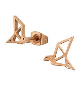 Precious jewels precious jewels oorstekers kraanvogels rosé