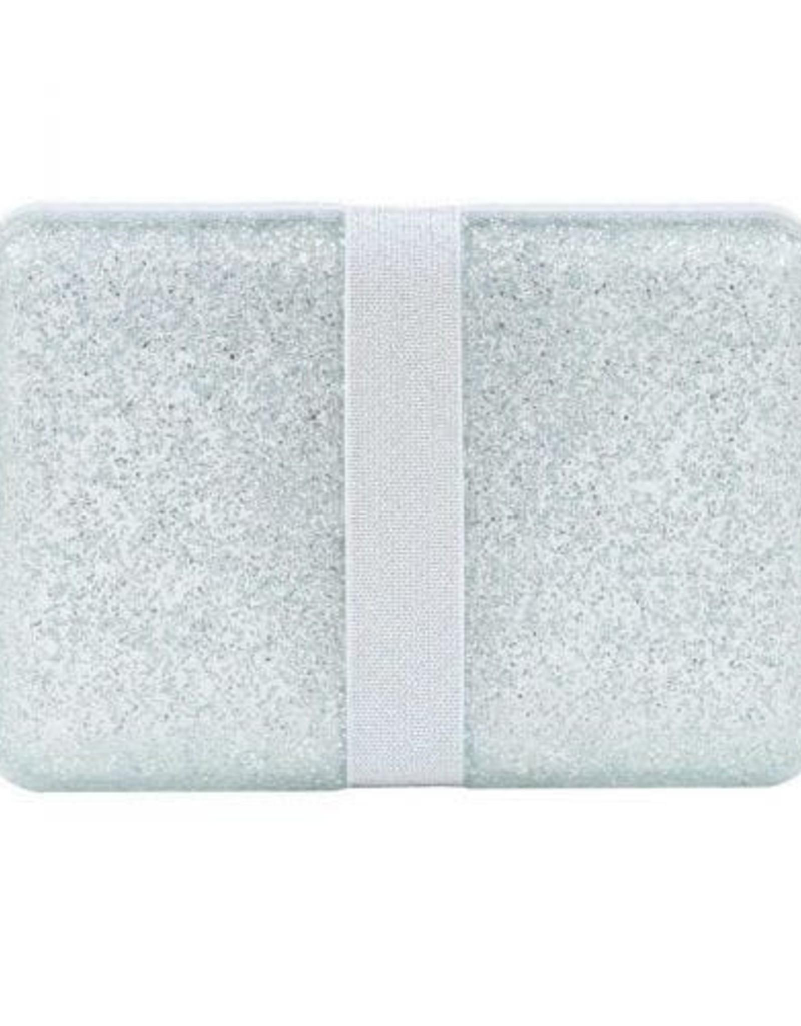 A little lovely company ALLC Lunchbox glitter zilver