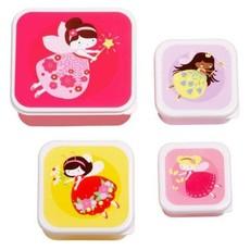 A little lovely company ALLC lunch & snackbox set: feetje