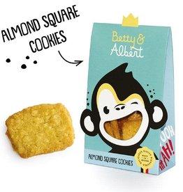 Betty & Albert Betty & Albert Almond Square Cookies