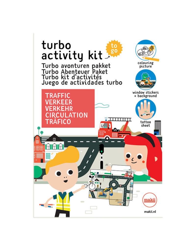 Makii Makii turbo avonturen pakket verkeer