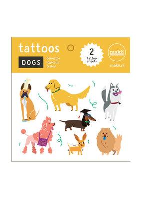 Makii makii tattoos honden