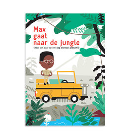 Makii Makii turbo grote kleurplaat jungle