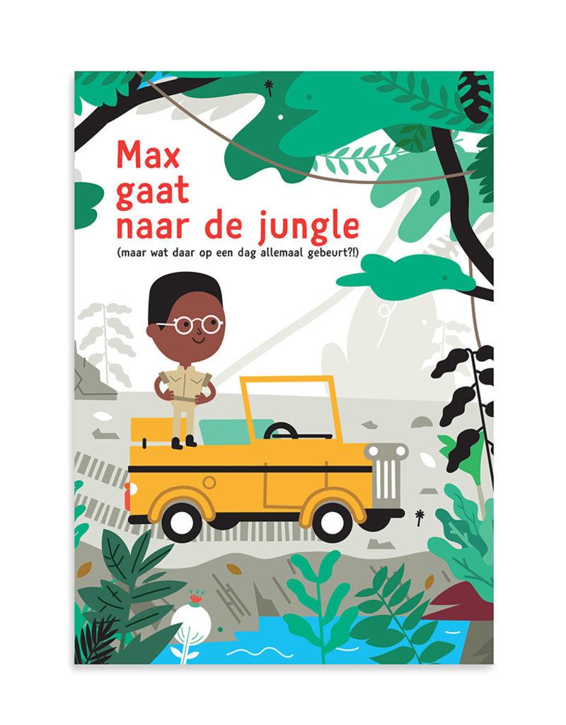 Makii Makii turbo grote kleurplaat jungle