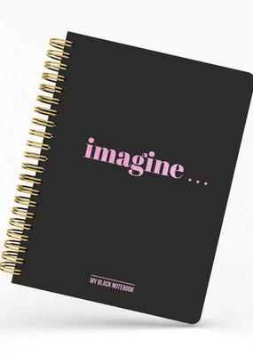 studio stationery Studio stationery: My Black Notebook Imagine