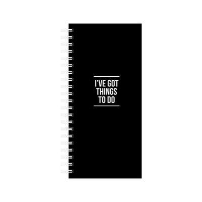 Studio stationery Studio stationery To Do Notebook I've got things to do