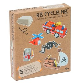 Re-Cycle-Me Re-Cycle-Me knutselen met eierdozen