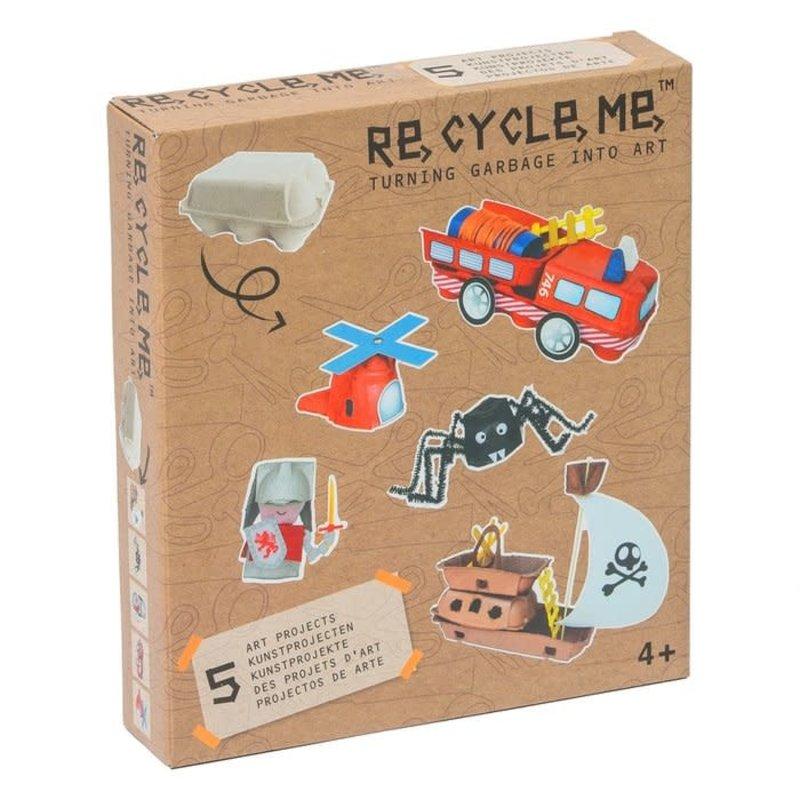 Re-Cycle-Me Re-Cycle-Me knutselen met eierdozen