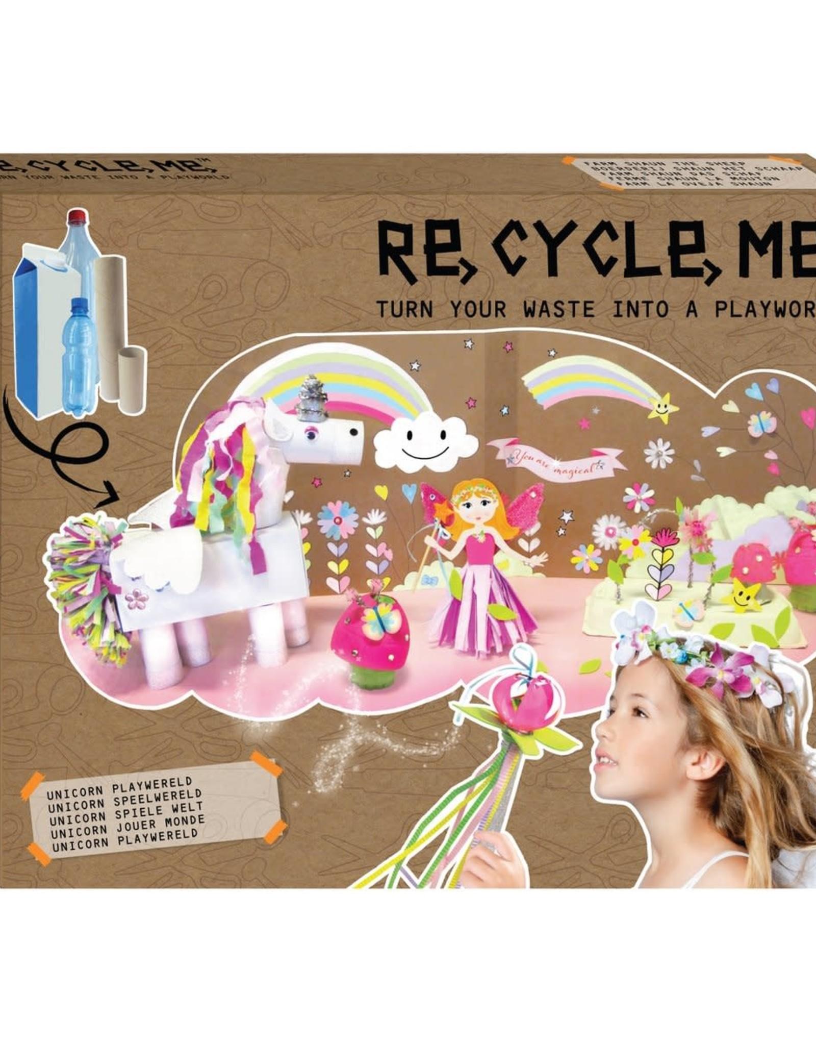 Re-Cycle-Me Re-Cycle-Me Knutsel een unicornwereld