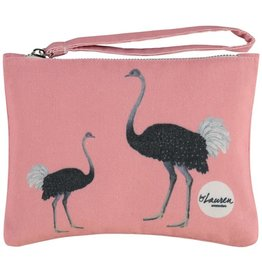 By lauren Amsterdam By Lauren Amsterdam ostrich party clutch