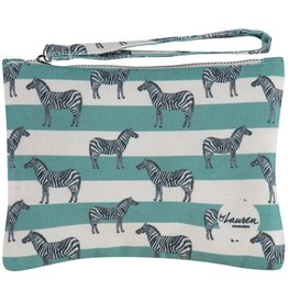 By lauren Amsterdam By Lauren Amsterdam zebra & stripes clutch