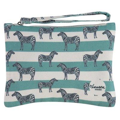 By lauren Amsterdam By Lauren Amsterdam zebra & stripes clutch
