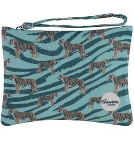 By lauren Amsterdam By Lauren Amsterdam go get 'm tiger ocean green clutch