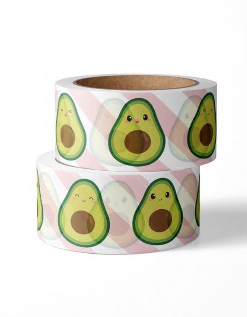 studio inktvis studio inktvis washi tape avocado