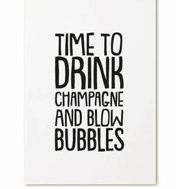 zoedt kaart a6 Zoedt: time to drink champagne and blow bubbles