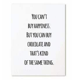 zoedt kaart a6 Zoedt: you can't buy happiness ...