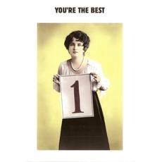 Kartoenfabriek Kartoenfabriek kaart a6 You're the best