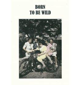 Kartoenfabriek Kartoenfabriek kaart a6 Born to be wild