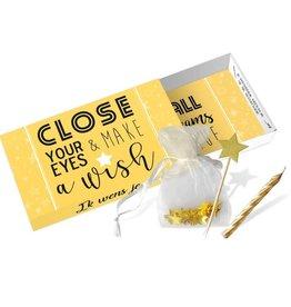 Paper art Paper art: Greeting Box Close your eyes & make a wish