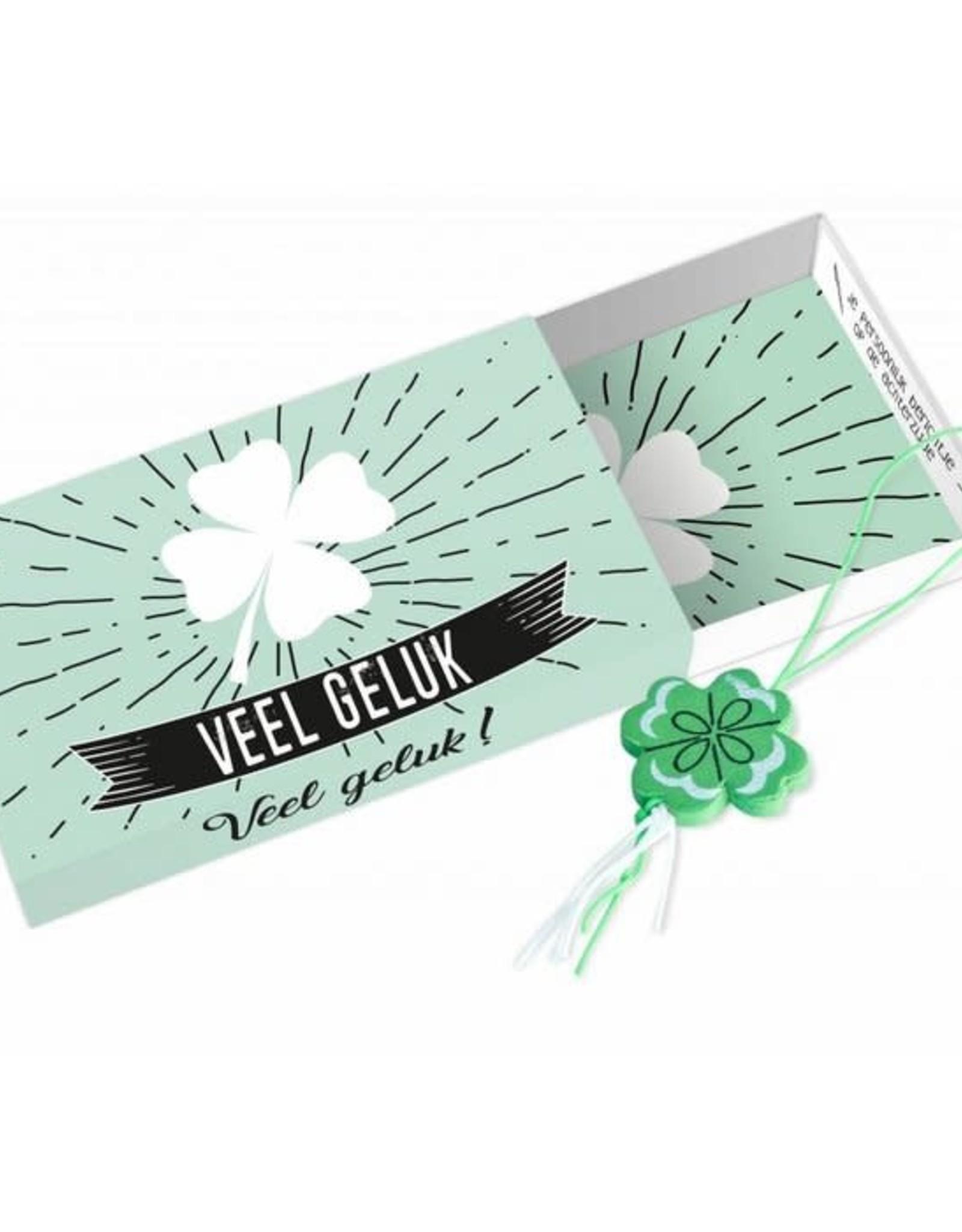 Paper art Paper art: Greeting Box Veel geluk en veel succes