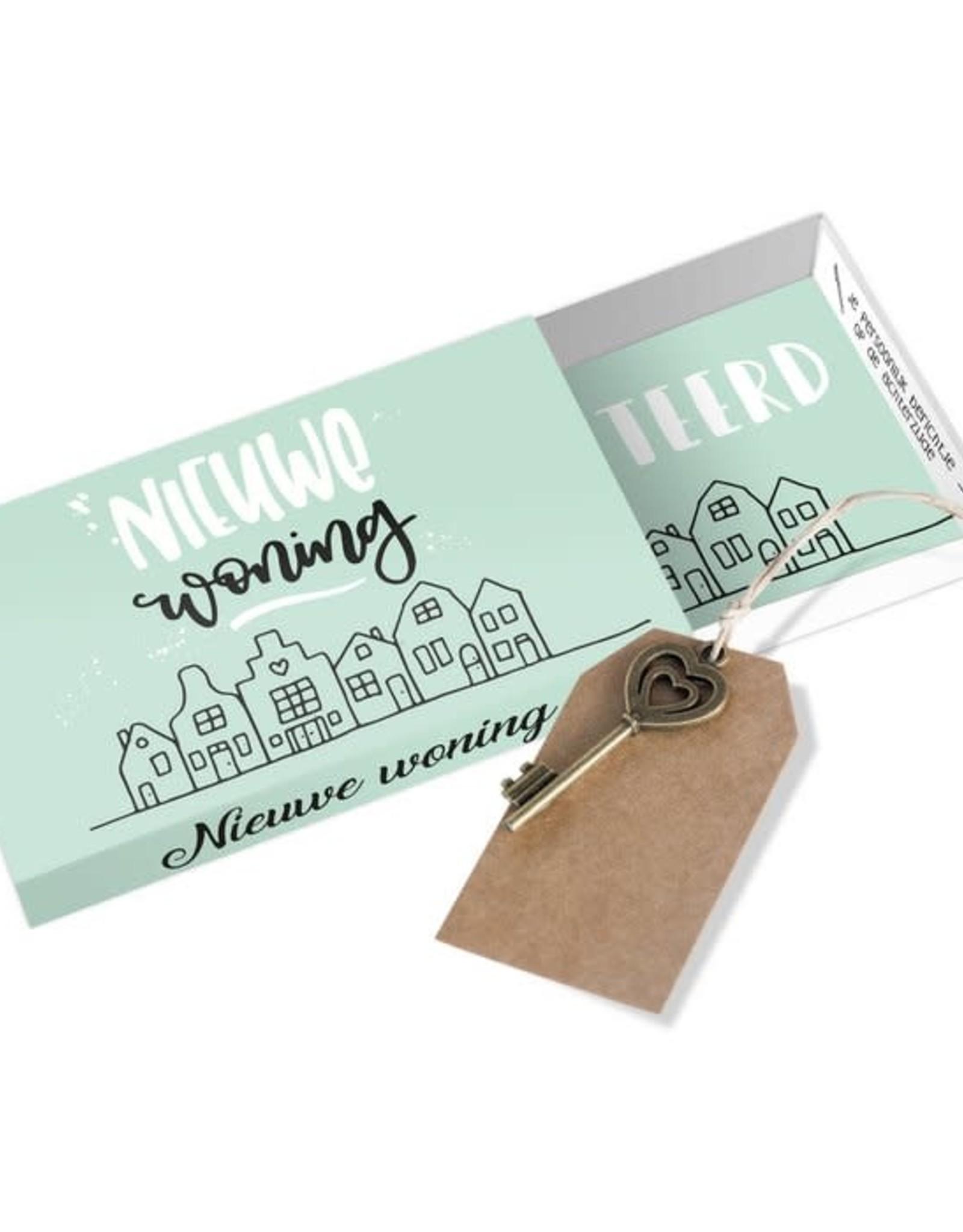 Paper art Paper art: Greeting Box Nieuwe woning