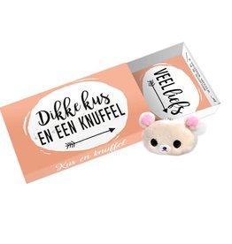 Paper art Paper art: Greeting Box Dikke kus en knuffel