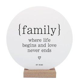 By romi By romi wooncirkel: family