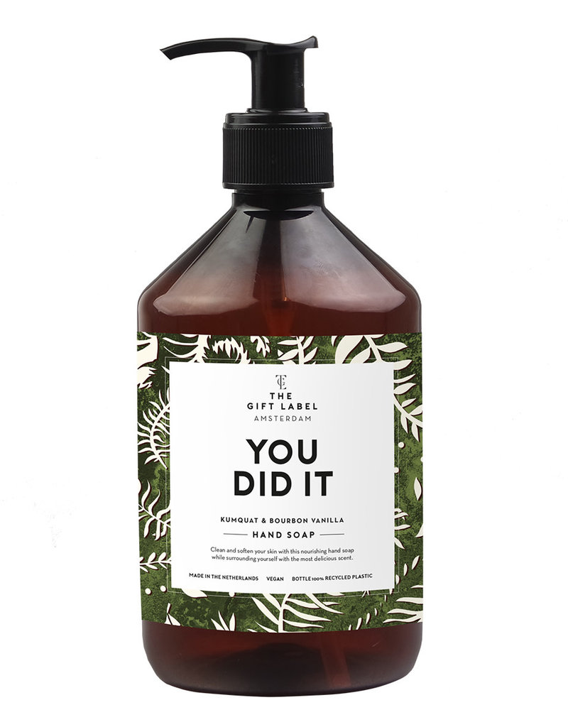 the gift label the gift label handzeep you did it SS21