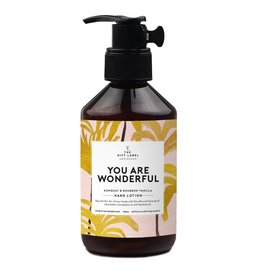 the gift label the gift label hand lotion 250 m - you are wonderful SS21
