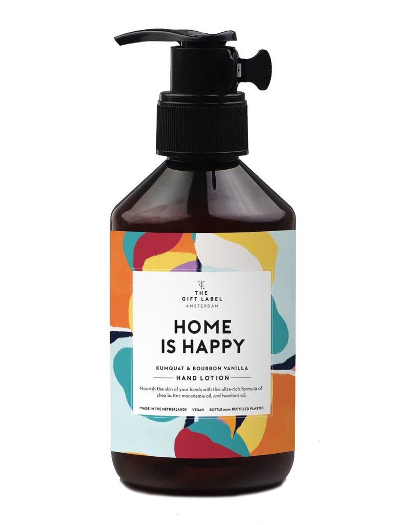 the gift label the gift label hand lotion 250 m - home is happy SS21