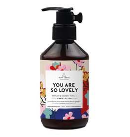 the gift label the gift label hand lotion 250 m - you are so lovely SS21