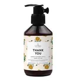 the gift label the gift label hand lotion 250 m - thank you SS21