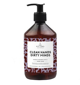 the gift label the gift label handzeep clean hands dirty minds SS21