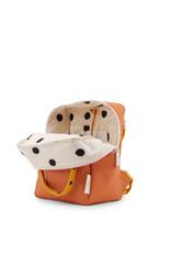 Sticky Lemon Sticky lemon:  Small backpack freckles carrot orange + sunny yellow + candy pink