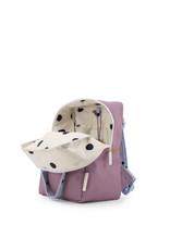 Sticky Lemon Sticky lemon:  Small backpack freckles  pirate purple + sky blue + caramel fudge