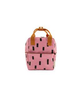 Sticky Lemon Sticky lemon Small backpack sprinkles special edition - bubbly pink + carrot orange
