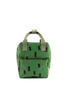 Sticky Lemon Sticky lemon Small backpack sprinkles special edition - apple green + steel blue