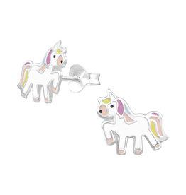 Precious jewels Precious jewels: oorstekers unicorn 001
