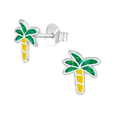Precious jewels precious jewels oorbellen palmbomen