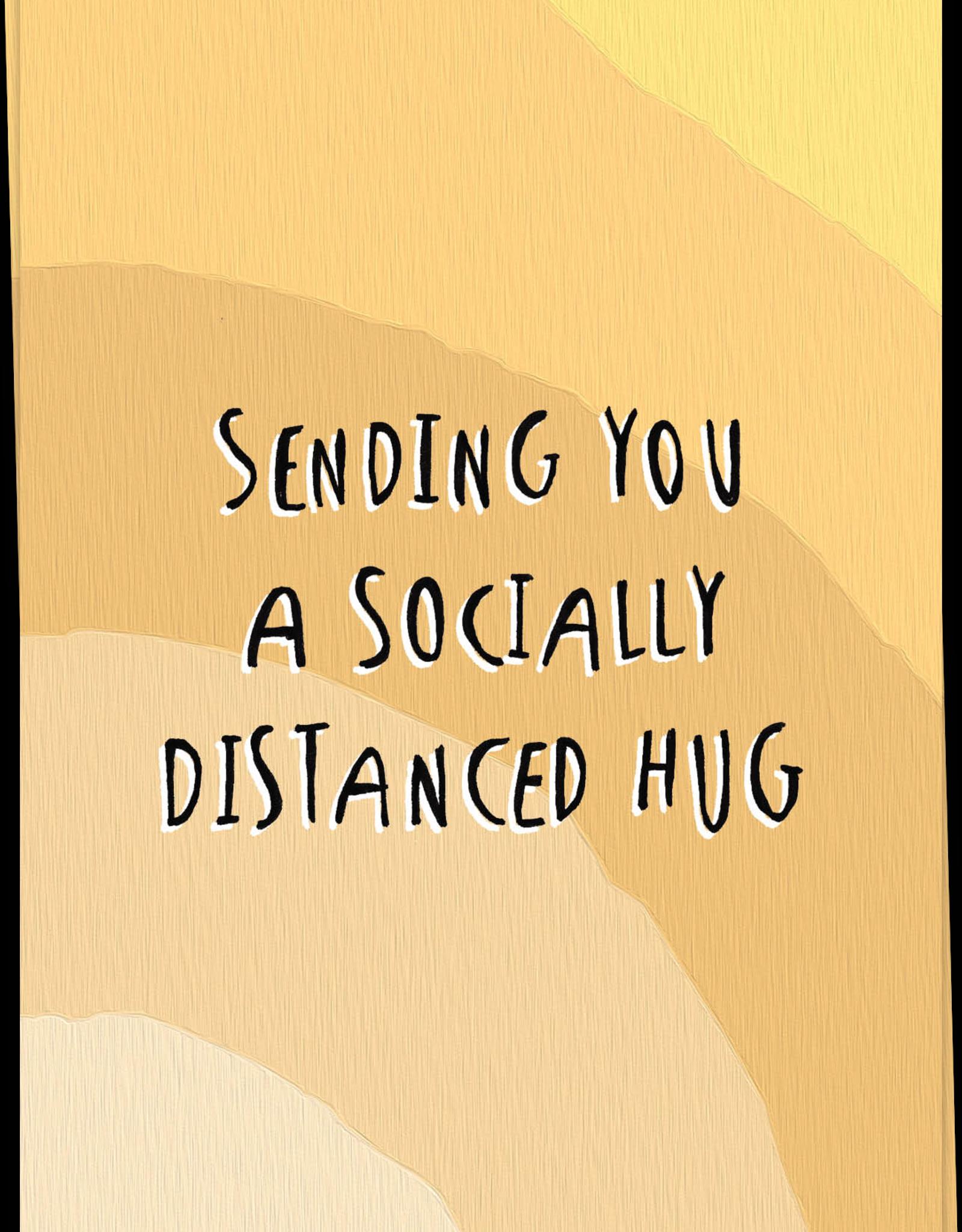 kaart Blanche Kaart Blanche: kaart a6 + envelop sending you a socially distanced hug
