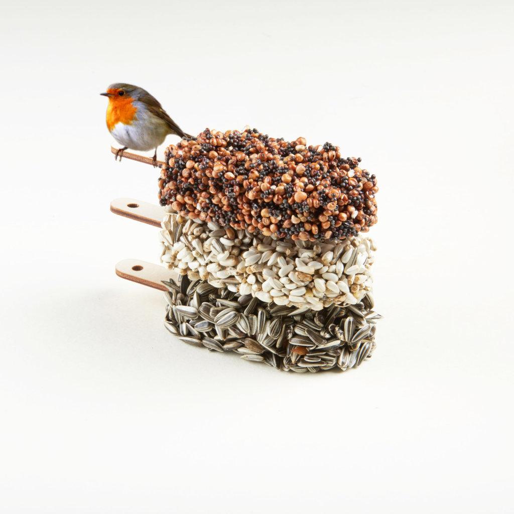 Studio Carmela Bogman Desserts for Birds Classic Black