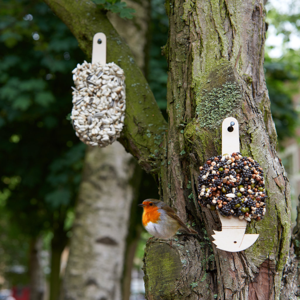 Studio Carmela Bogman Desserts for Birds Crunchy crunchy