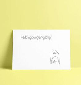 de post op De post op: kaart A6  weddingdongdingdong