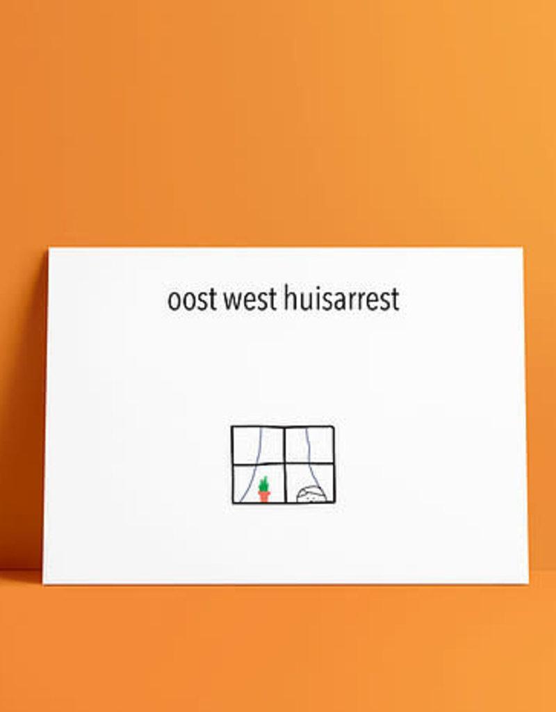 de post op De post op: kaart A6 ooit west huisarrest