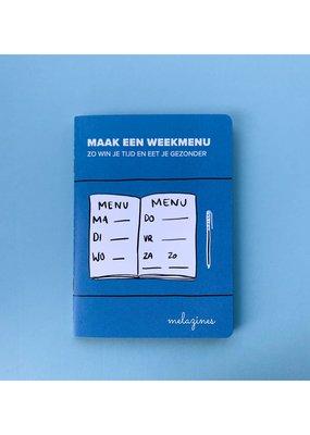 Melazine Melazines: Maak een weekmenu