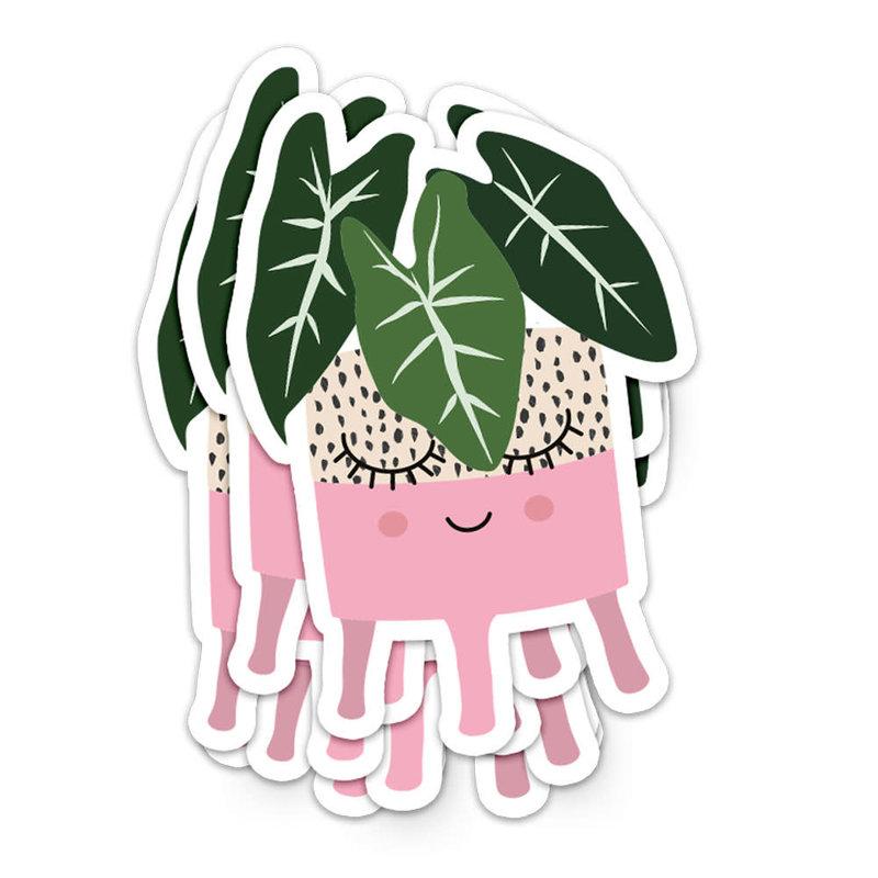 Studio inktvis studio inktvis stickers XL plantenpot