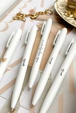 Stationery & gift : pen wit tekst: sparkle