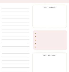 Stationery & gift my Day Today | Pink Leopard Collection A5