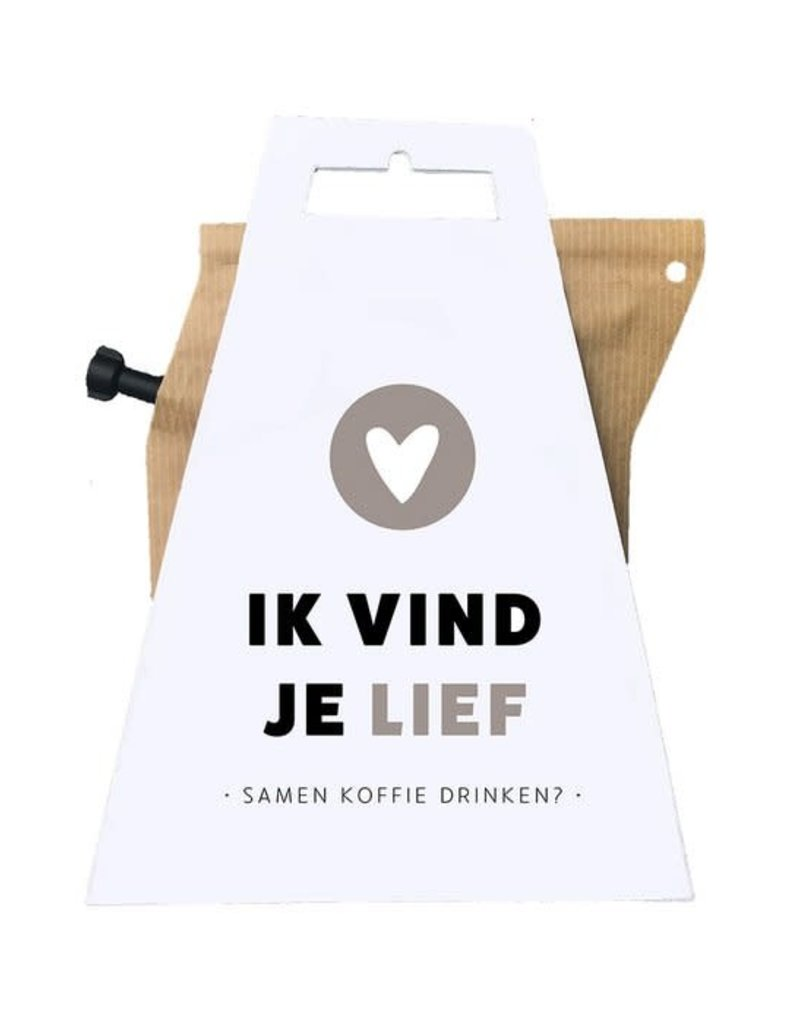 Liv'n taste Liv'n taste Coffeebrewer ik vind je lief