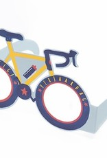 Enfant Terrible Wenskaart bril Enfant terrible: Gelukkige verjaardag  fiets
